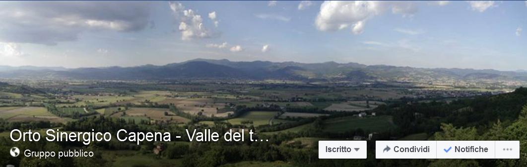 Orto Sinergico di Capena Valle del Tevere - gruppo Facebook