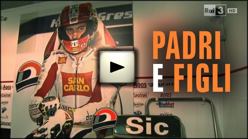 PADRI E FIGLI - I dieci comandamenti RAI 3 - Marco Simoncelli - Cheyenne